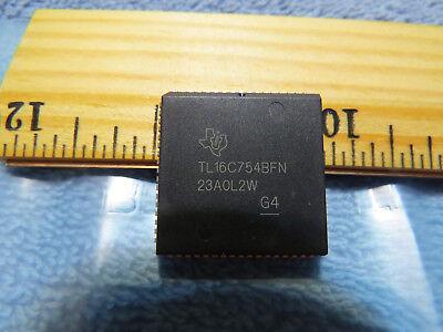 1 - Quad Uart Ti Tl16c754 68 Pin Plcc Socket New Usa Seller
