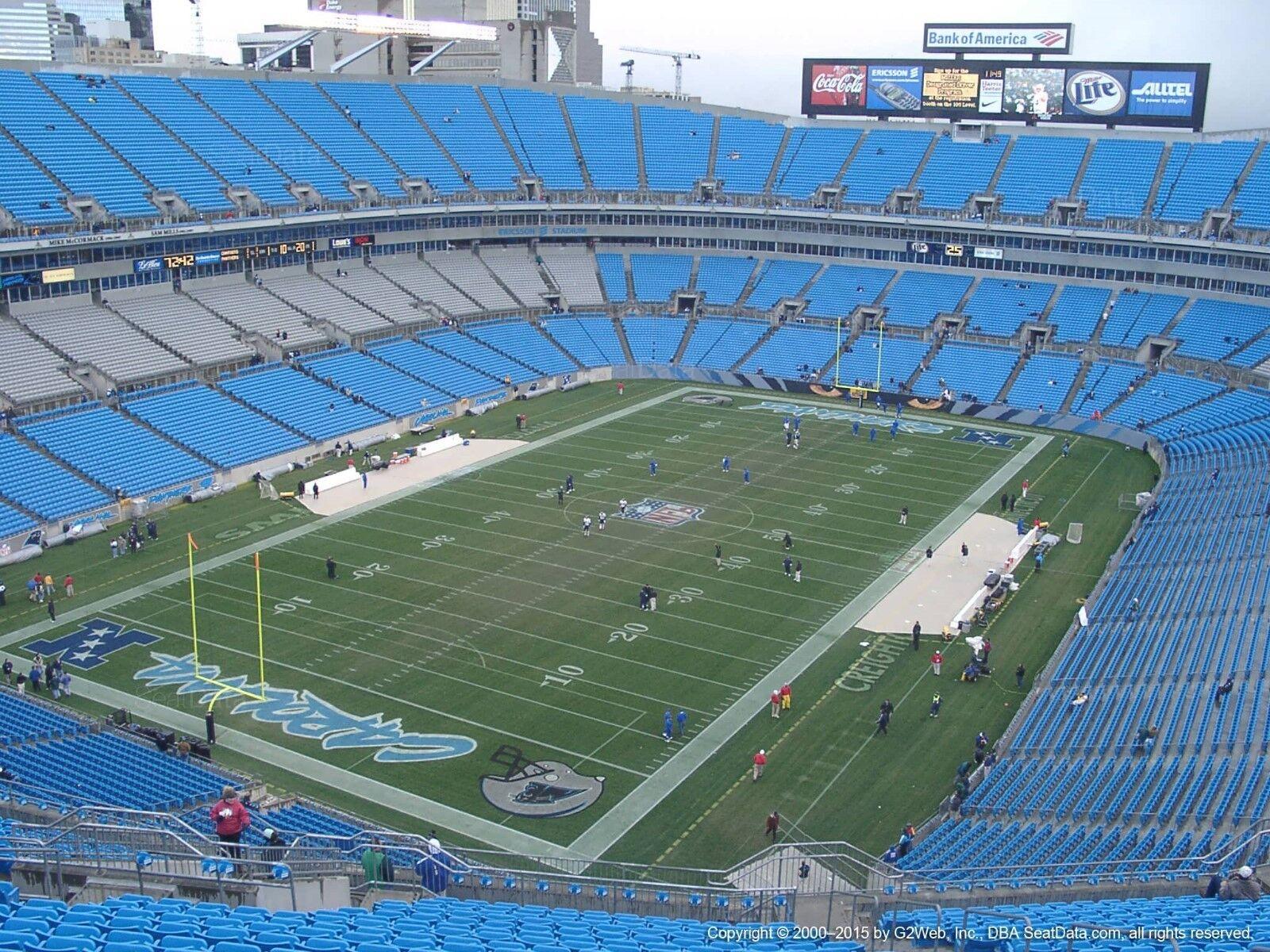 Carolina Panthers PSL Sec 551, Row 3, Season Tickets EVERY year!!