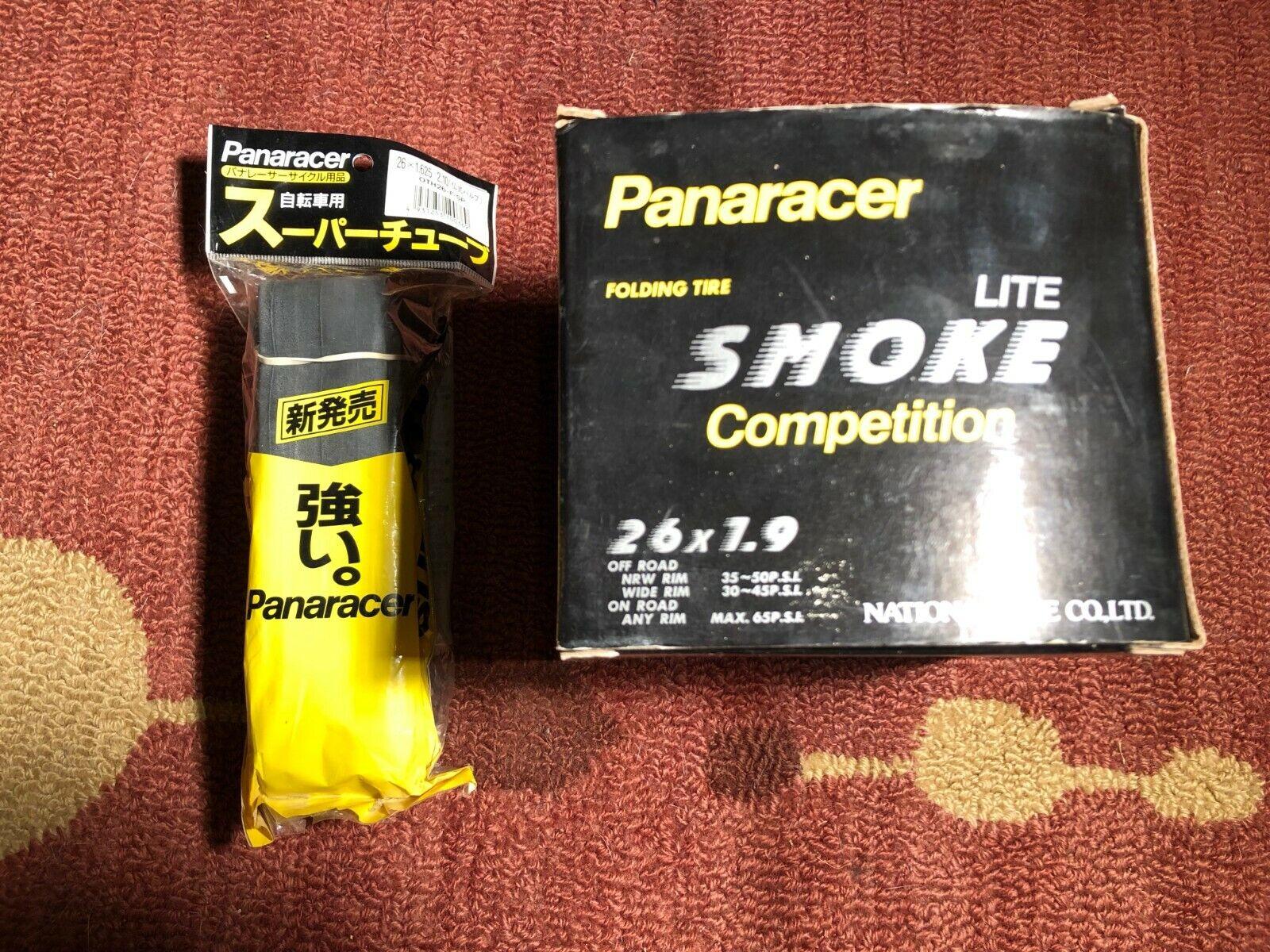 "NOS NIB Panaracer Smoke Lite Competition 26 x 1.9"" Front Rar"