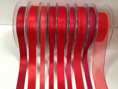3 to 70mm Ribbon /& Grosgrain ODDMENTS Cadbury Berisfords LIBERTY 952 Purple