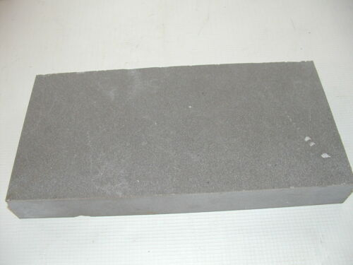 "Granite Marble SLAB LEATHER tooling CRAFT polished 1-1/4"" x 9-3/4"" x 5"""