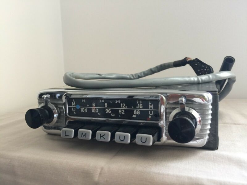 Blaupunkt Koln Model 7630740000 Vintage Classic Car Radio