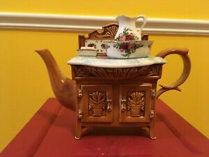 1996 Rare Royal Albert Large Washstand Teapot