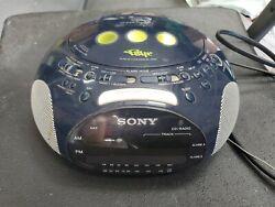 ..S41o00ny Psyc Dream Machine FM/AM CD Dual Alarm Clock Radio ICF-CD831 Boom Box