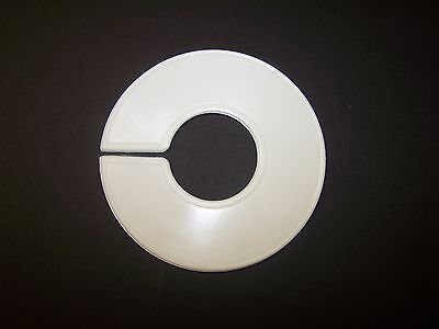 Plastic White 80 Blank Clothing Size Dividers For Retail Clothing Racks