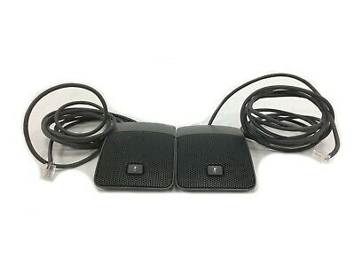 Lot Of 2 Cisco Cp-mic-wired-s Wired Microphones For Cisco Vc Phone Cp-8831