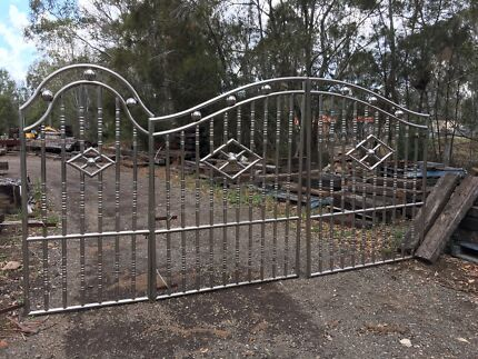Stainless steel gates and fencing - new old stock
