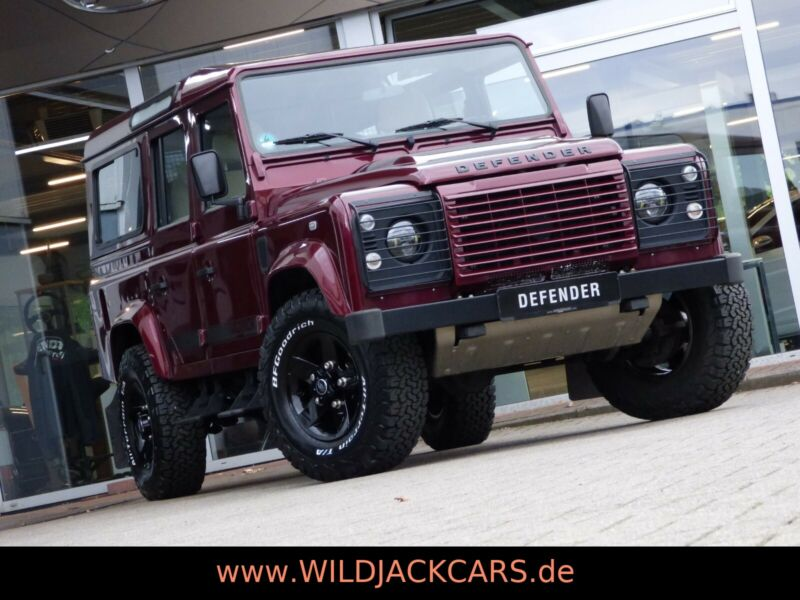 Land Rover Defender 110 TD4 WILDJACK*BENTLEY LEDER*265er*