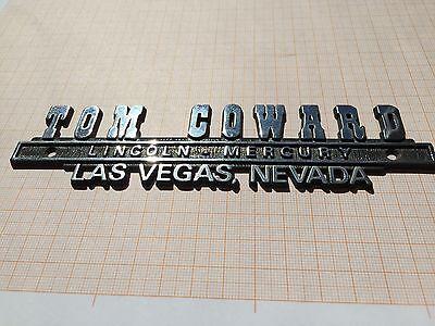 Lincoln Continental Town Car Mercury Händler Kofferraum Emblem Schrift Las Vegas