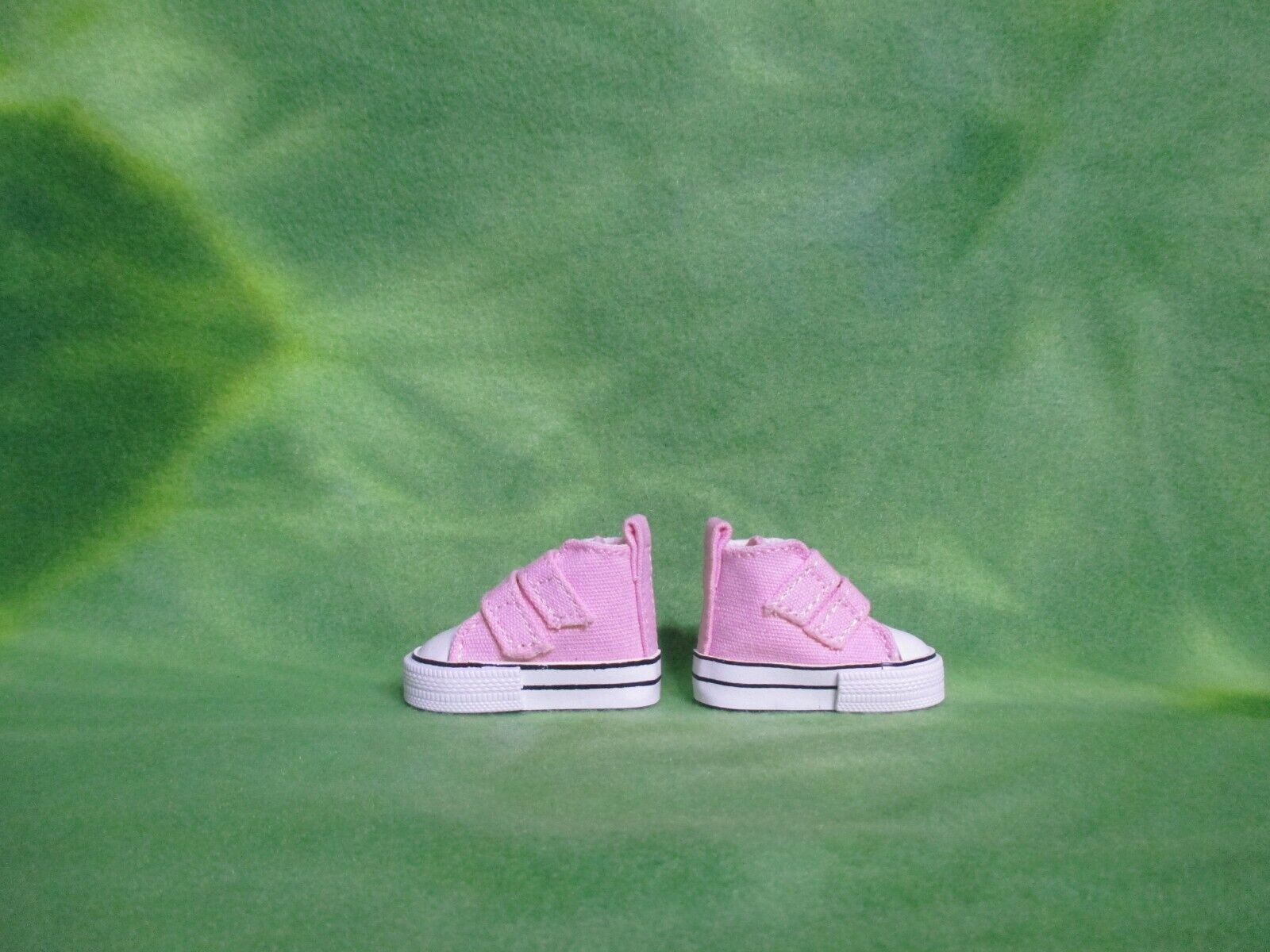 2 PINK DOLL SNEAKERS SHOES STRAPS FITS 10-11 MEADOWS DOLLS PATTI OR TELLA BJDS - $15.00