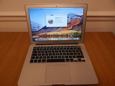 "Apple MacBook Air 13"" core i5 – 1.8 GHz , 4 GB , 256 GB SSD - Mid 2012"