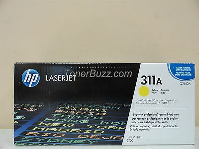 GENUINE HP Q2682A 311A YELLOW TONER CARTRIDGE LASER JET 3700 BRAND NEW Q2682a Laser Toner