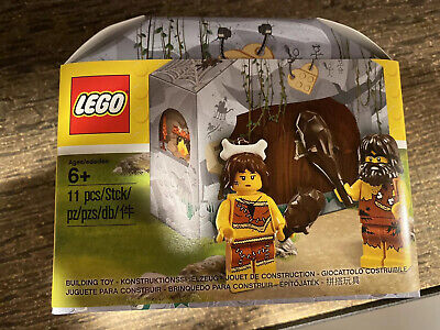 LEGO 5004936 - CAVEMAN CAVEWOMAN - BRAND NEW!!! SEALED!!!