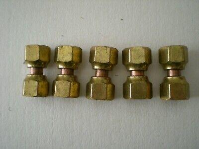 Lot Of 5 Holyoke 41fpsw-8 12 Swivel Forged Flare Union Nut