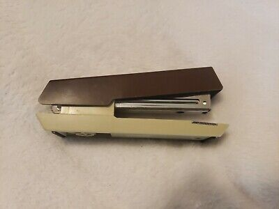 Vintage Brown And Tan Boston Stapler Model 55 - Product Of Taiwan A1