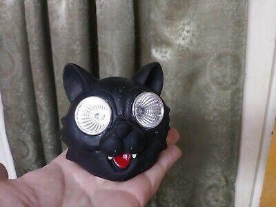 Cool Halloween Decoration (Really Cool Black Cat Solar Light Halloween Decoration Punk Rock Spooky)