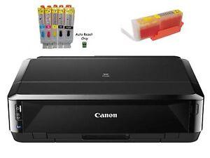 Canon Pixma iP7250 Tintenstrahldrucker + Set befüllte Mini CISS