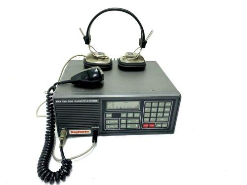 Raytheon Radiotelephon RAY-150 MF-HF-SSB marine radio cpmpelete set