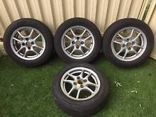 Toyota Corolla - 14 inch -  Rims and Tyres x 4 Beaconsfield Fremantle Area Preview