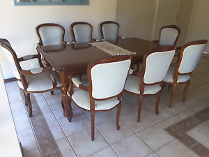 LOUIS XV STYLE 8 x CARVER CHAIRS Eatons Hill Pine Rivers Area Preview