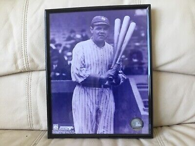 Babe Ruth with Bats 8x10 Photo NY Yankees Photo File Cooperstown Collection
