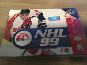 NHL 99 for nintendo 64 N64 hockey game , box and manual