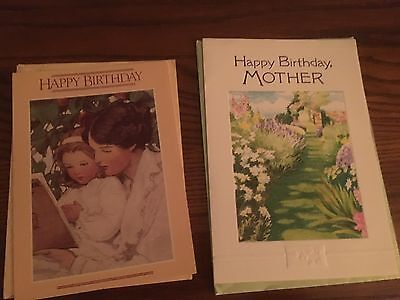 Nine Greeting Cards for Mom: Birthday, Valentines Day, Thanksgiving & Christmas ()