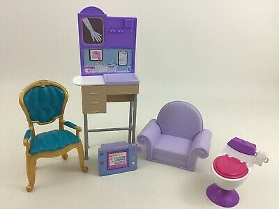 Barbie Pediatrician Doctors Office Accessories and Furniture Toys 2000s Mattel
