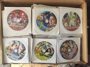 box full of south-asian/bollywood dvds