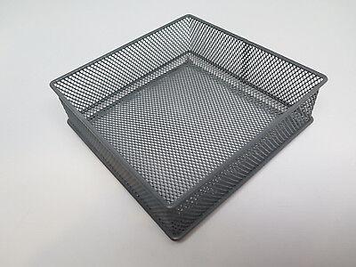 Wire Basket Desktop Bin Desk Organizer Office Drawer Home 6 W X6l 2h Gray