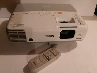 Epson PowerLite 96w LCD Projector Wide HDMI NEW LAMP + REMOTE