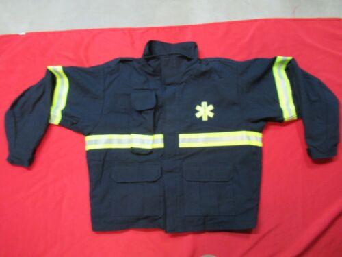 MFG 2012 Globe LifeLine EMS Turnout Jacket 1X 50-54 CHEST EMT Rescue Firefighter