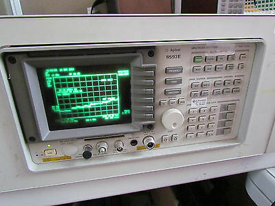 Hp Agilent 8593e 9 Khz - 22 Ghz Spectrum Analyzer W Opts