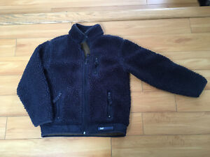 Youth thick fleece jacket size 8-10