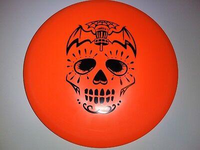Halloween-disc-golf (New 2016 Innova DX Roc Pumpkin Halloween Disc Golf 177g)