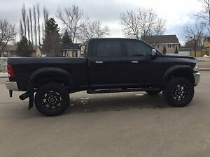 2012 Ram 3500 C/C Laramie Diesel **Lifted, Loaded!!**