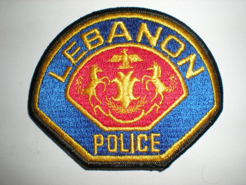 LEBANON, PENNSYLVANIA POLICE DEPARTMENT PATCH