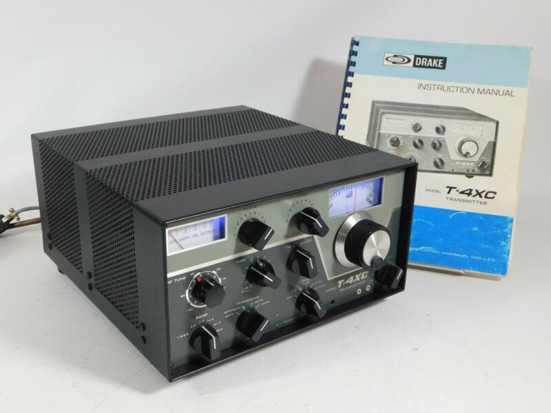 Drake T-4CX Ham Radio Transmitter (looks and operates great) SN 28335
