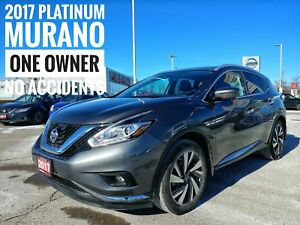 2017 Nissan Murano Platinum Emergency Braking Intelligent Cru...