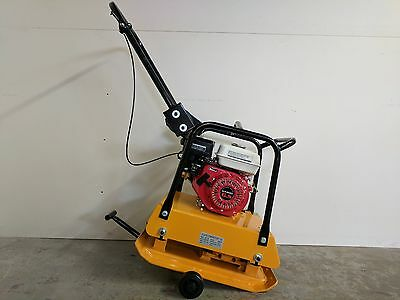 Hoc C120- Plate Tamper Compactor 18 In Wheel Kit 40 Cm Depth 2 Yr Warranty