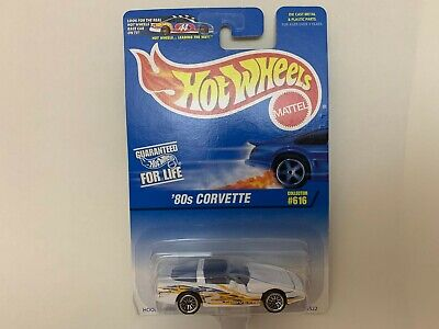 1997 Hot Wheels '80s Corvette Col. #616 (Lace Hub Wheels Version)China Base
