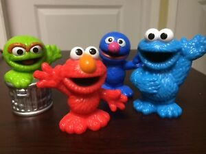 Sesame Street Figures Cake Toppers