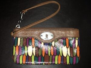 Fossil Wristlet/Zippered Pouch