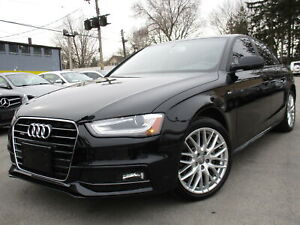 2015 Audi A4 2.0T QTRO S-LINE~KOMFORT~23,000KMS ONLY ONE OWNER