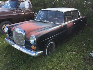 """1964 Mercedes """"fintail"""" 190d"""