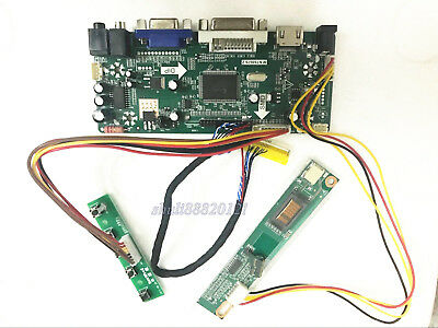 Controller LCD Inverter Scheda Driver Kit per LQ121S1LG55 HDMI + DVI + VGA
