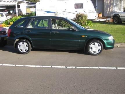 2002 Ford Laser Hatch AUTOMATIC Eleebana Lake Macquarie Area Preview