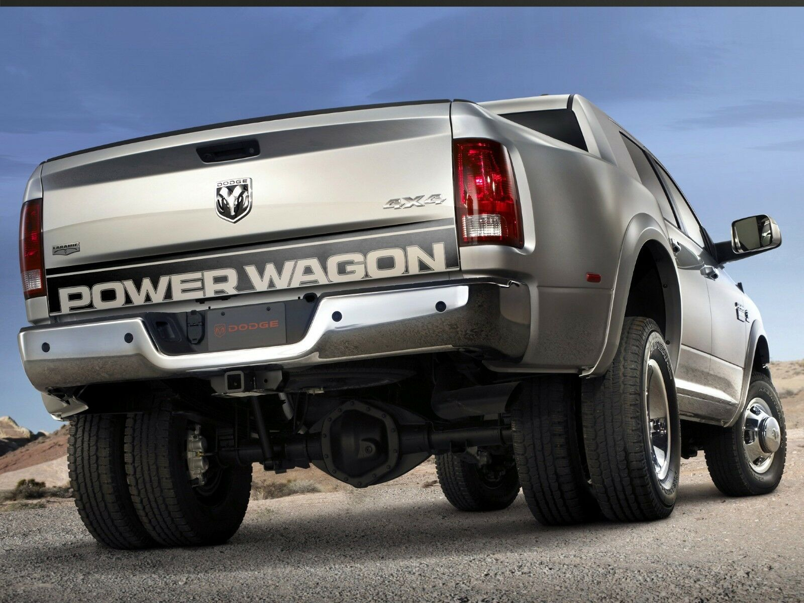 Details about dodge ram 1500 power wagon truck tailgate accent vinyl graphics stripe decal
