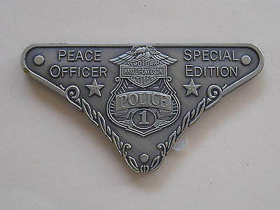 Harley Peace MEDALION 'Special Edition' .. Peace Officer #1 .. Limited Edition  ()