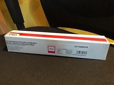 OKI Toner [original] Laser Drucker Kassette in MAGENTA / ROT p/n 44469705 [NEU]
